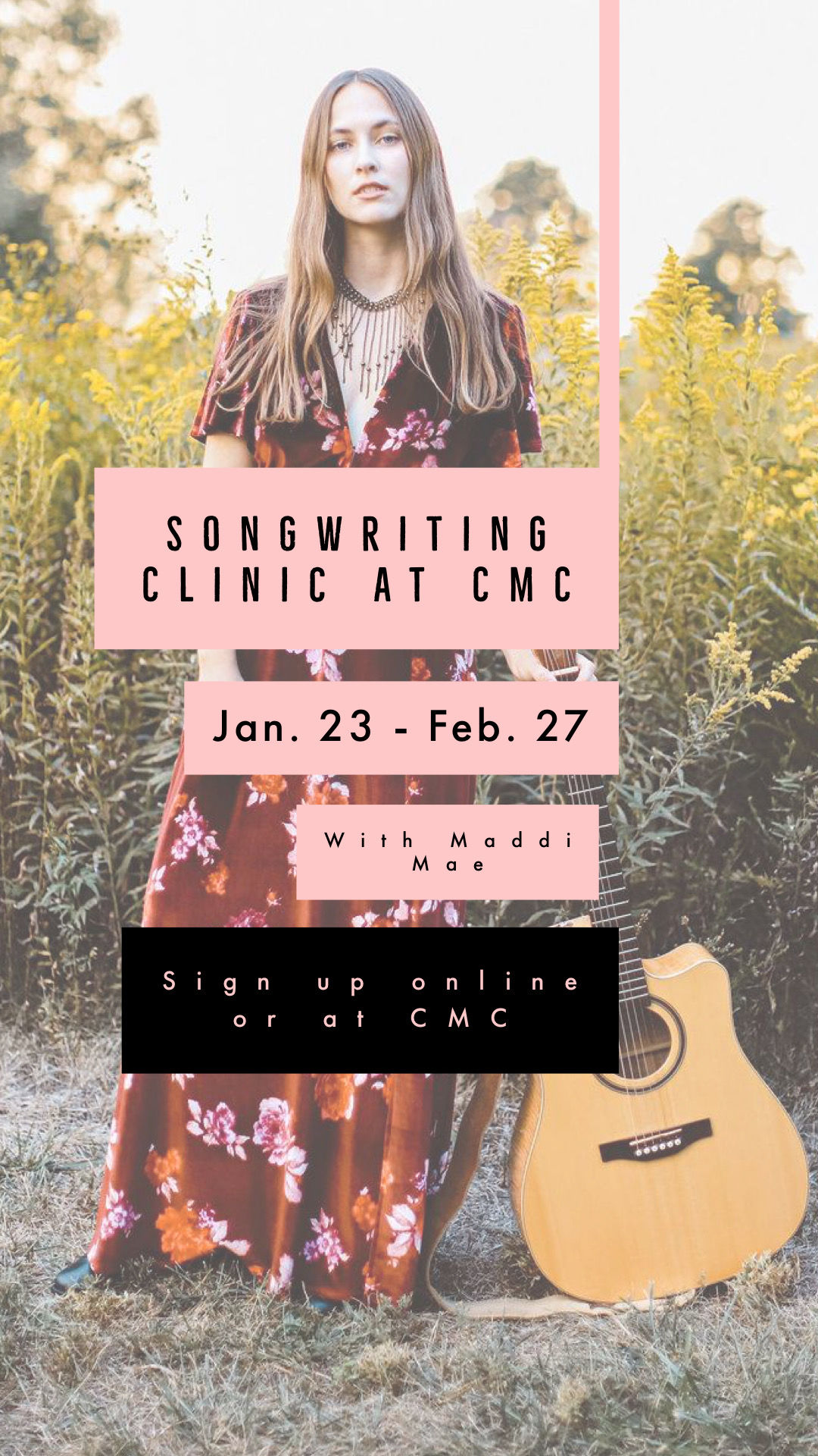 Songwriting Clinic with Maddi Mae