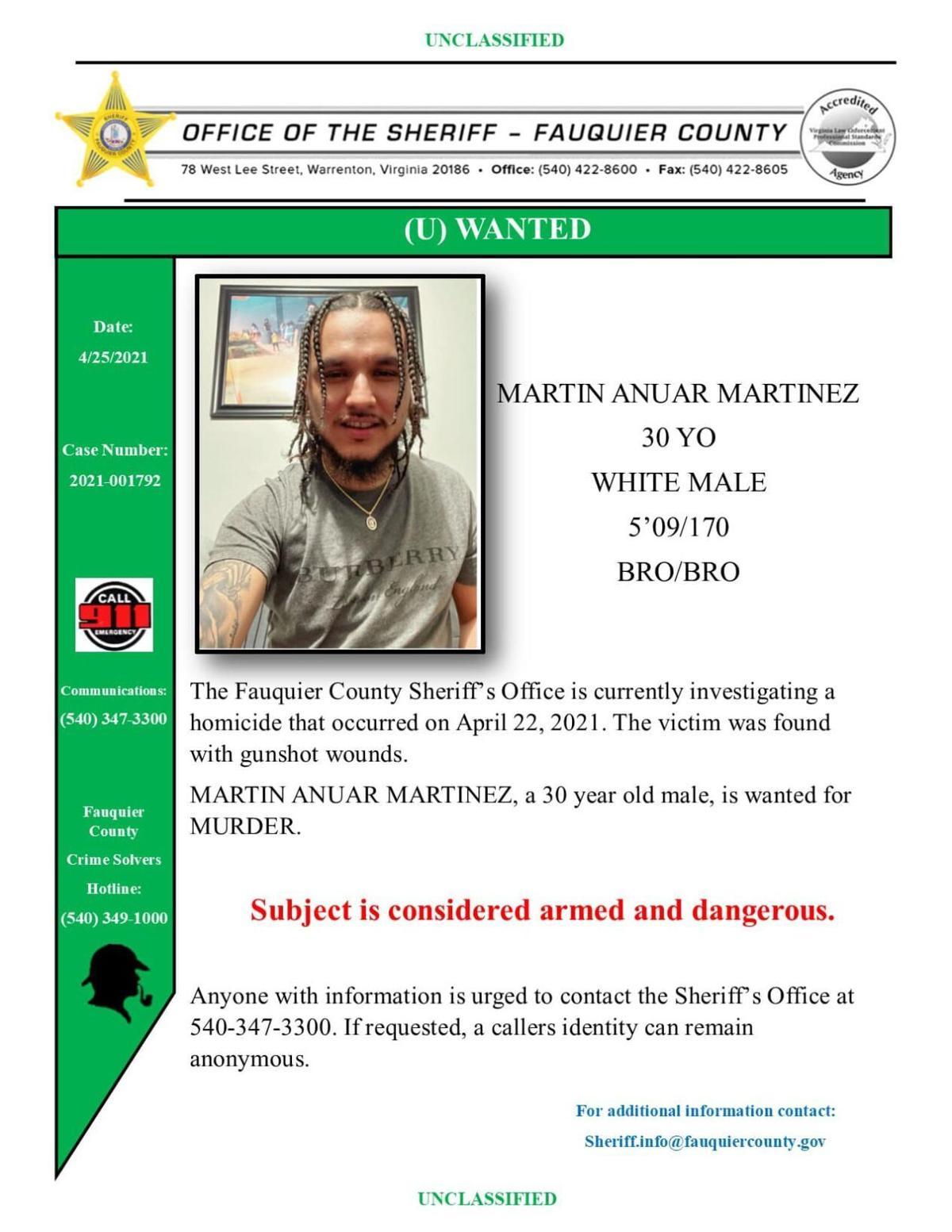 wanted poster martin anuar martinez