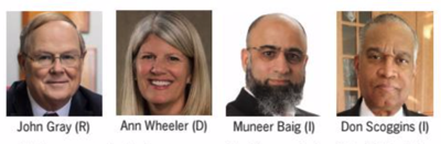 Prince William County board chairman candidates -Group