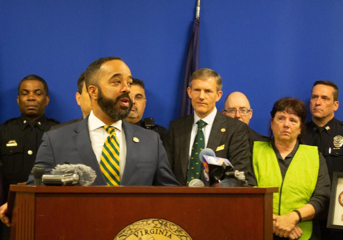 Del. Jeff Bourne, D-71st, of Richmond, introduces distracted driving bill