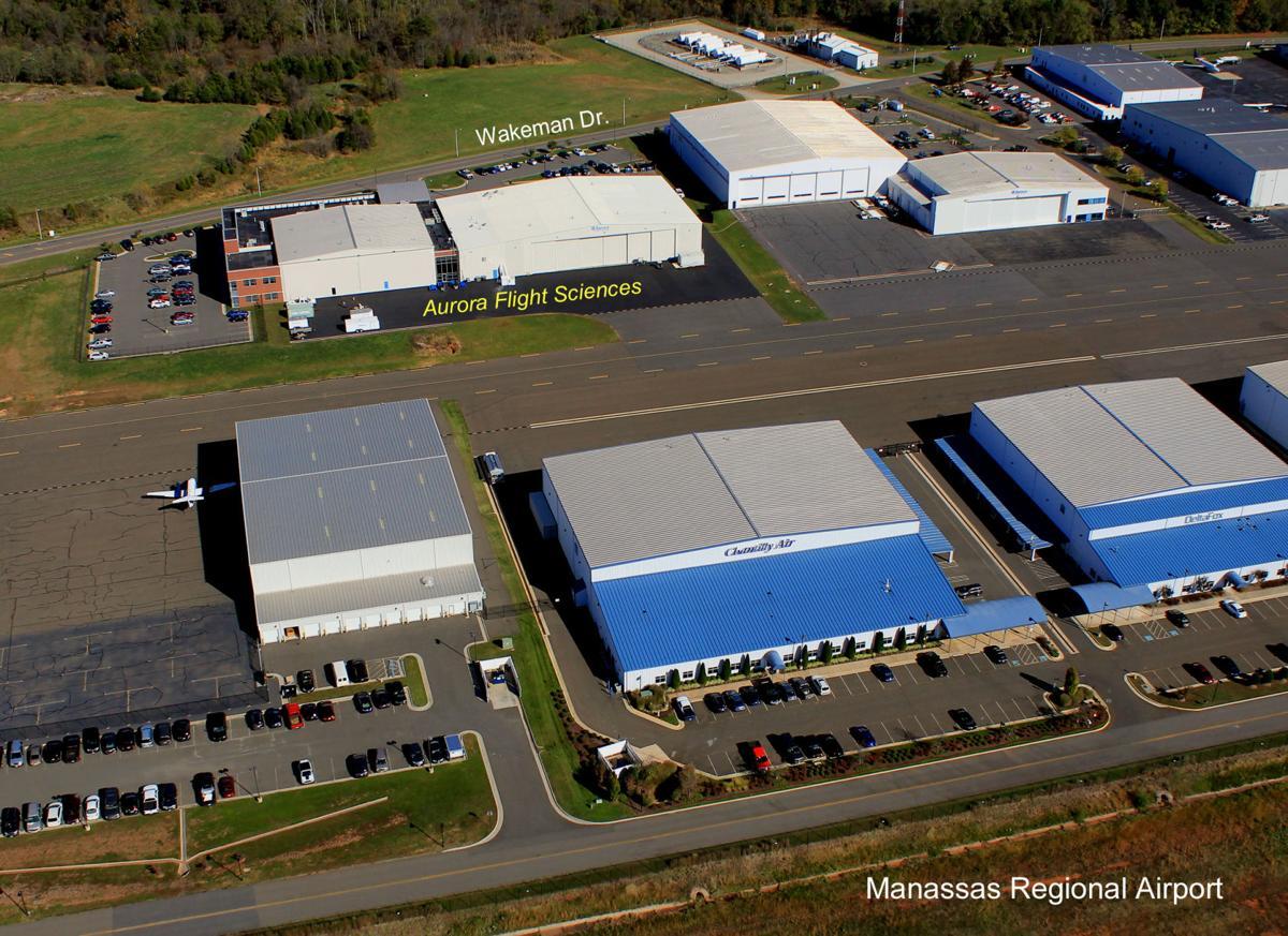 Aurora Flight Sciences aerial photo