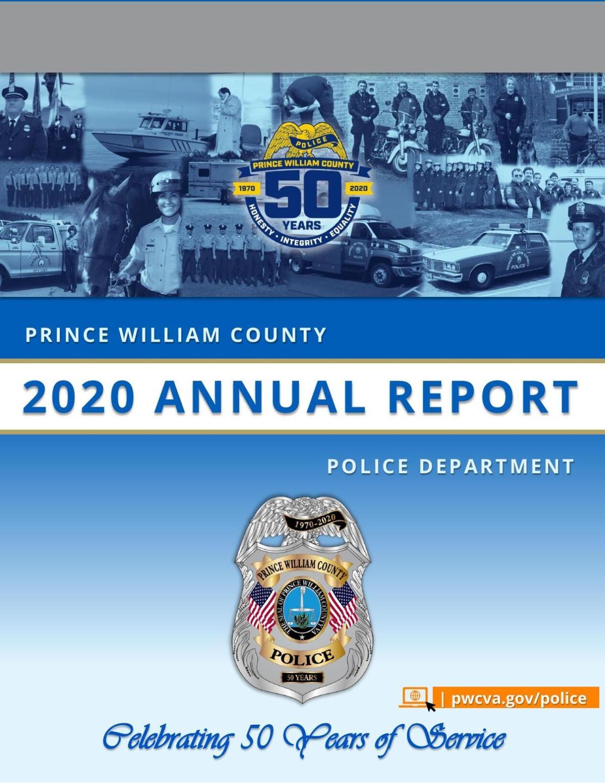 Prince William County police 2020 annual report