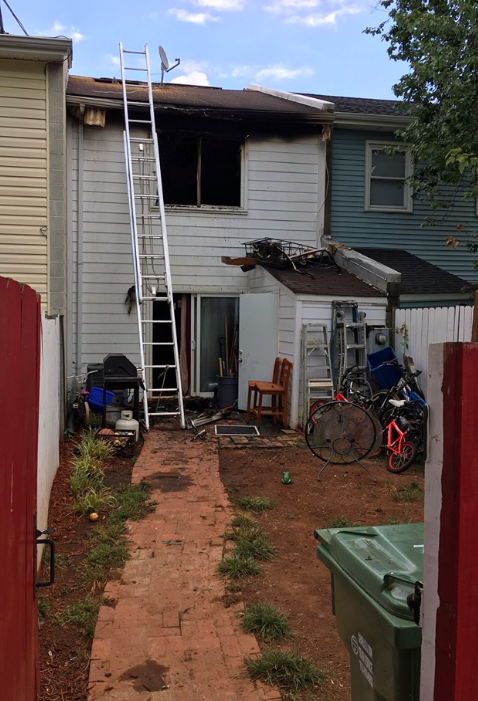 Yorkshire townhome fire Aug. 3, 2019