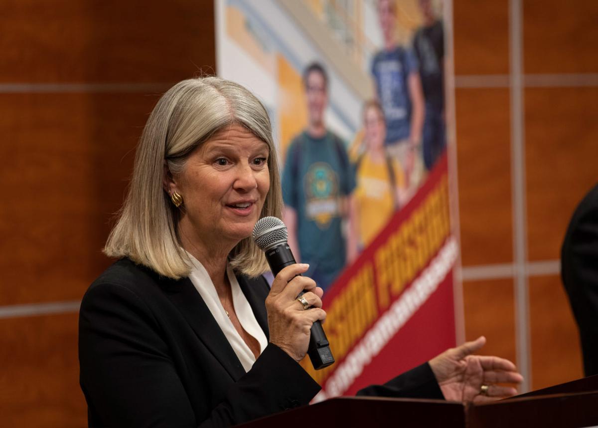 Ann Wheeler at Oct. 8 debate at NVCC