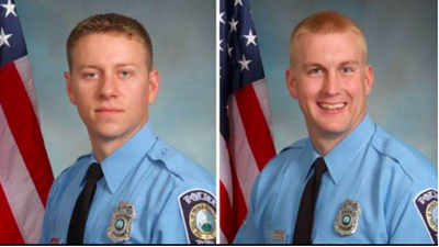 Prince William County police officers Jesse Hempen and David McKeown