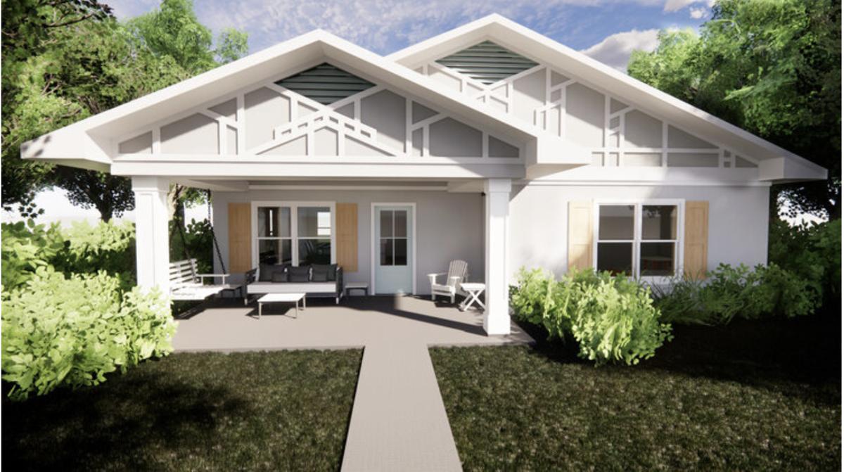3D printed home rendering Richmond Virginia Mercury