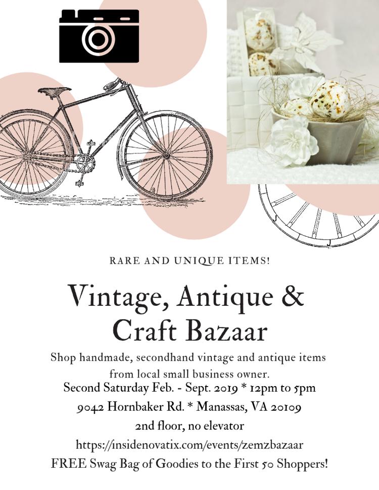 Vintage, Antique & Craft Bazaar
