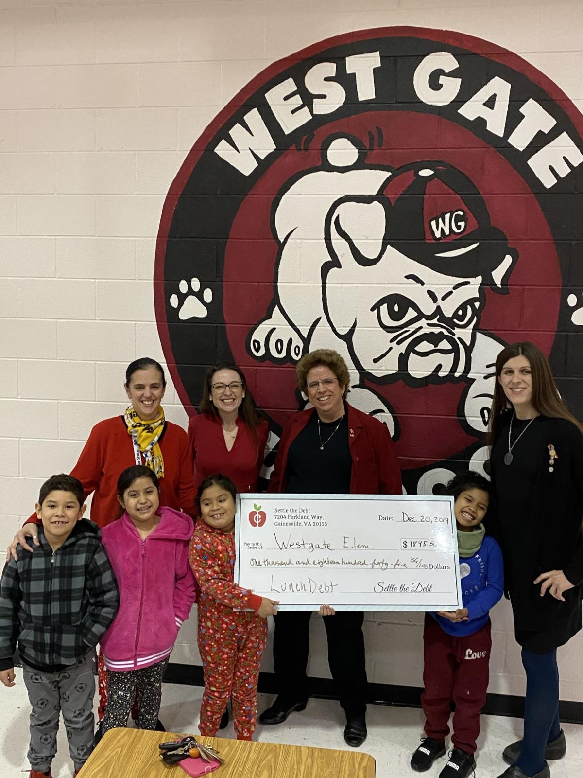Settle the Debt at West Gate Elementary School