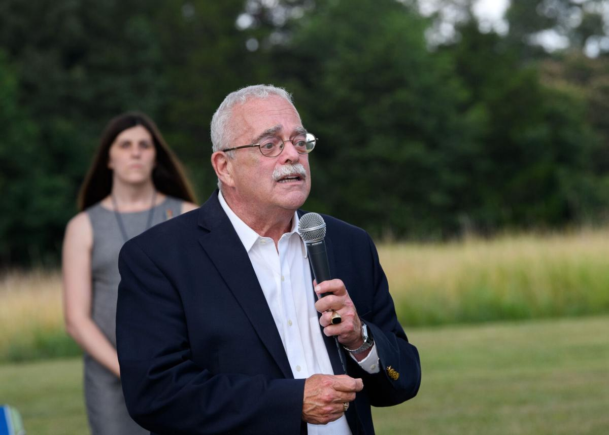 """""""Good Trouble"""" vigil at the Manassas Battlefield: Rep. Gerry Connelly, D-11th"""