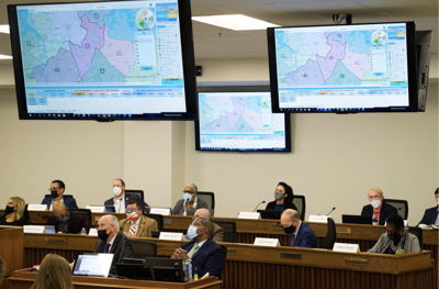 Redistricting Commission meeting October 2021