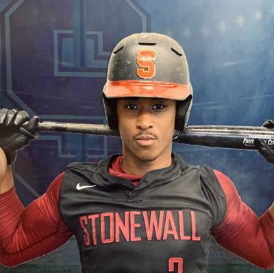 Eric Sledge, baseball player, Stonewall Jackson High School