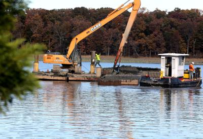 Neabsco Creek dredging underway   News   princewilliamtimes com