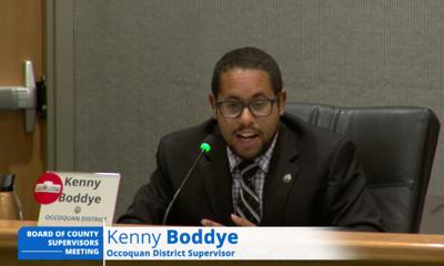 Supervisor Kenny Boddye, D-Occoquan