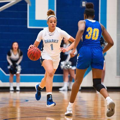 Colgan High School girls basketball Alyssa Andrews