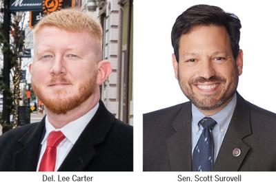 Del. Lee Carter and Sen. Scott Surovell
