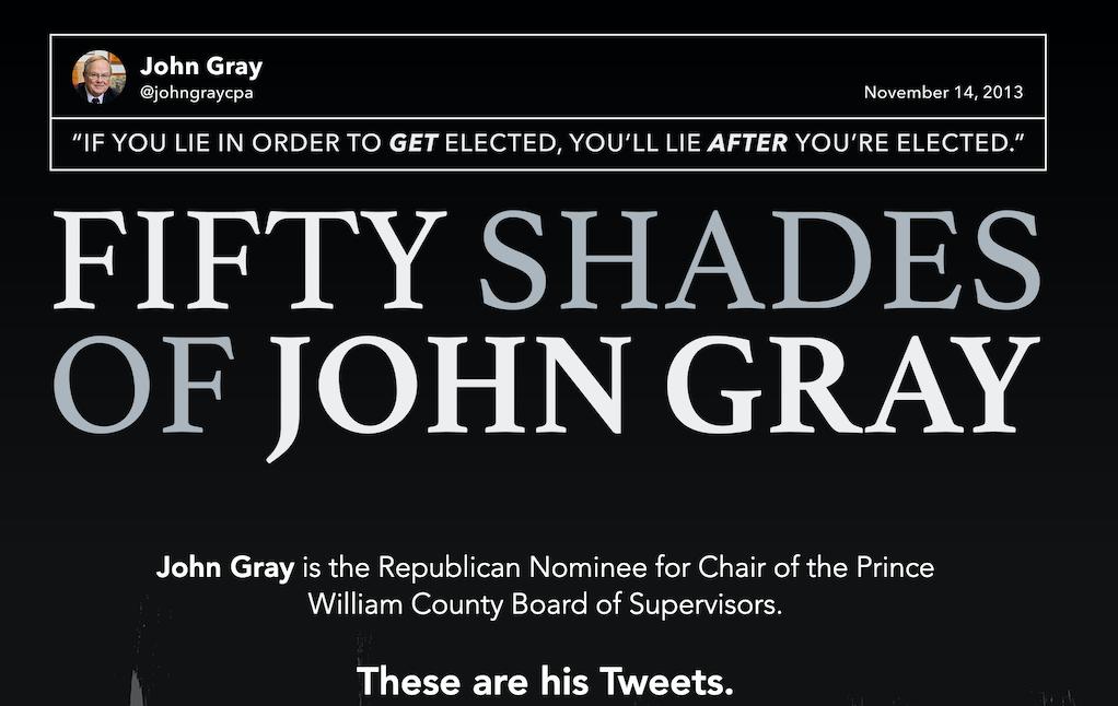 Dems' website cataloging John Gray's tweets