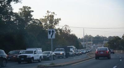 traffic on Va. 28