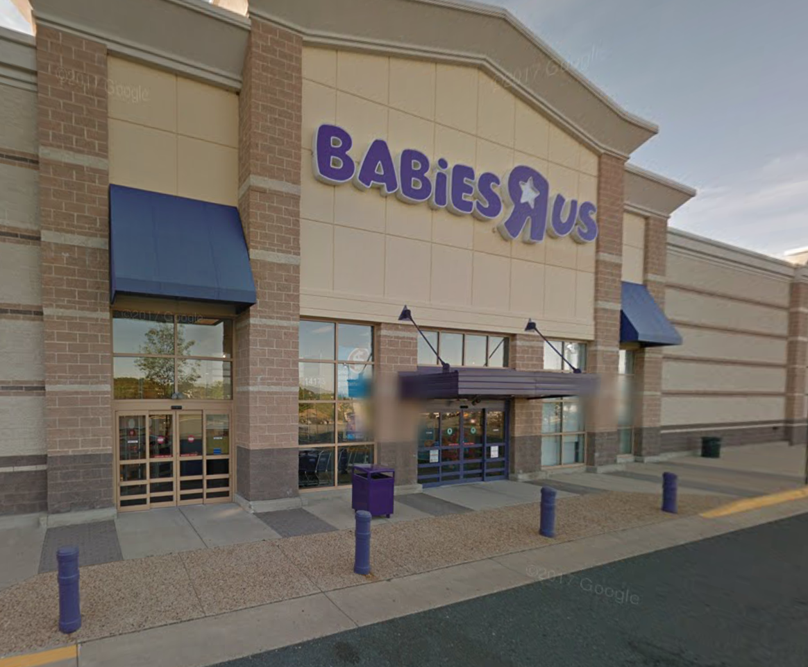 babies r us store in woodbridge courtesy google maps