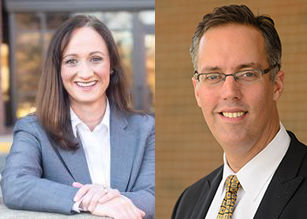 Commonwealth's Attorney candidates Amy Ashworth and Mike May