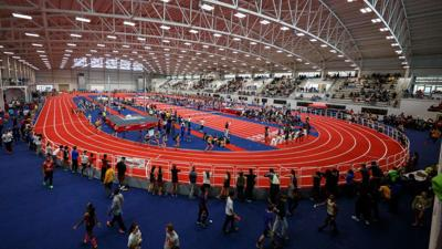 Liberty University indoor track complex