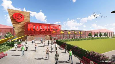 Rosie's betting parlor rendering