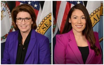 Supervisor Jeanine Lawson and Supervisor Yesli Vega