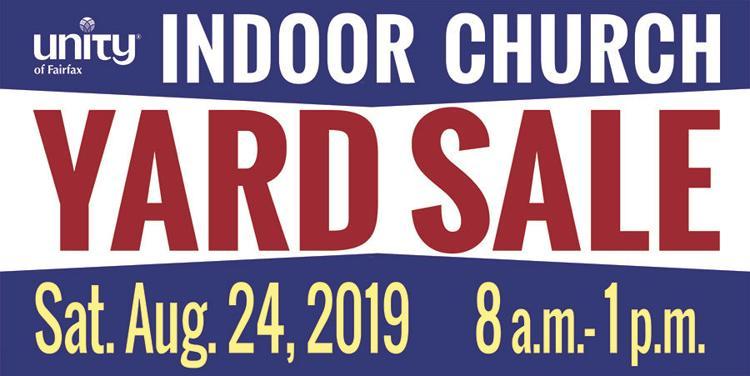 Unity of Fairfax Indoor Yard Sale