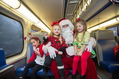 VRE Santa Train