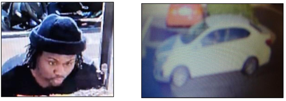 Manassas McDonald's drive thru suspect, vehicle