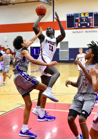 Darrrel Johnson high school basketball boys Patriot Pioneers