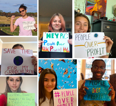 Greater Prince William Climate Action Network advocacy