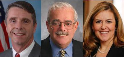 Prince William County's federal lawmakers:  Wittman, Connolly, Wexton