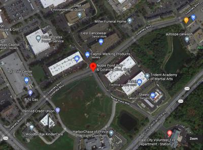 Google maps of Golansky Boulevard and Noble Pond Way