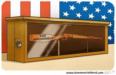 Cartoon 2nd Amendment resolutions