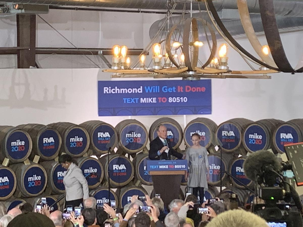 Mike Bloomberg in Richmond