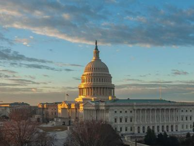 U.S. Capitol building in Washington