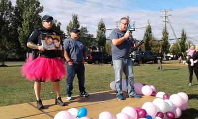 Middleburg Police Chief A.J. Panebianco Haymarket breast cancer awareness