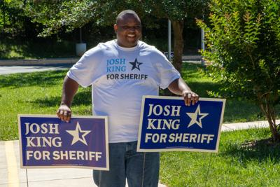 Josh King candidate for Prince William County sheriff primary election June 11