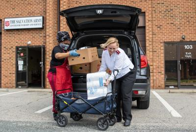 Prince William Food Rescue Salvation Army Covid-19