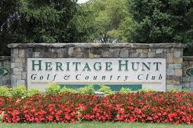 Heritage Hunt sign