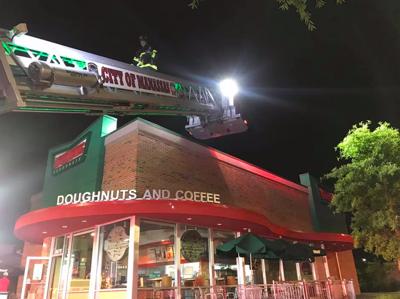 Krispy Kreme doughnut shop fire June 9, 2019
