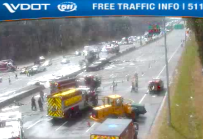 Truck fire closes Capital Beltway in Fairfax | News