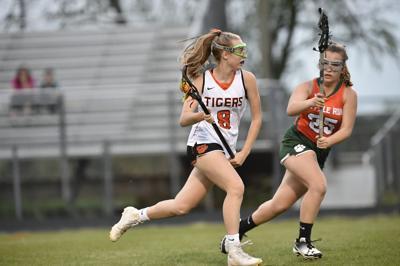 Brentsville District H.S. Tigers lacrosse versus Kettle Run H.S.