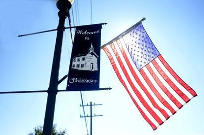 P_Haymarket_Day_56.JPG flags Haymarket flag