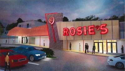 Facade of Dumfries Rosies Gaming Emporium