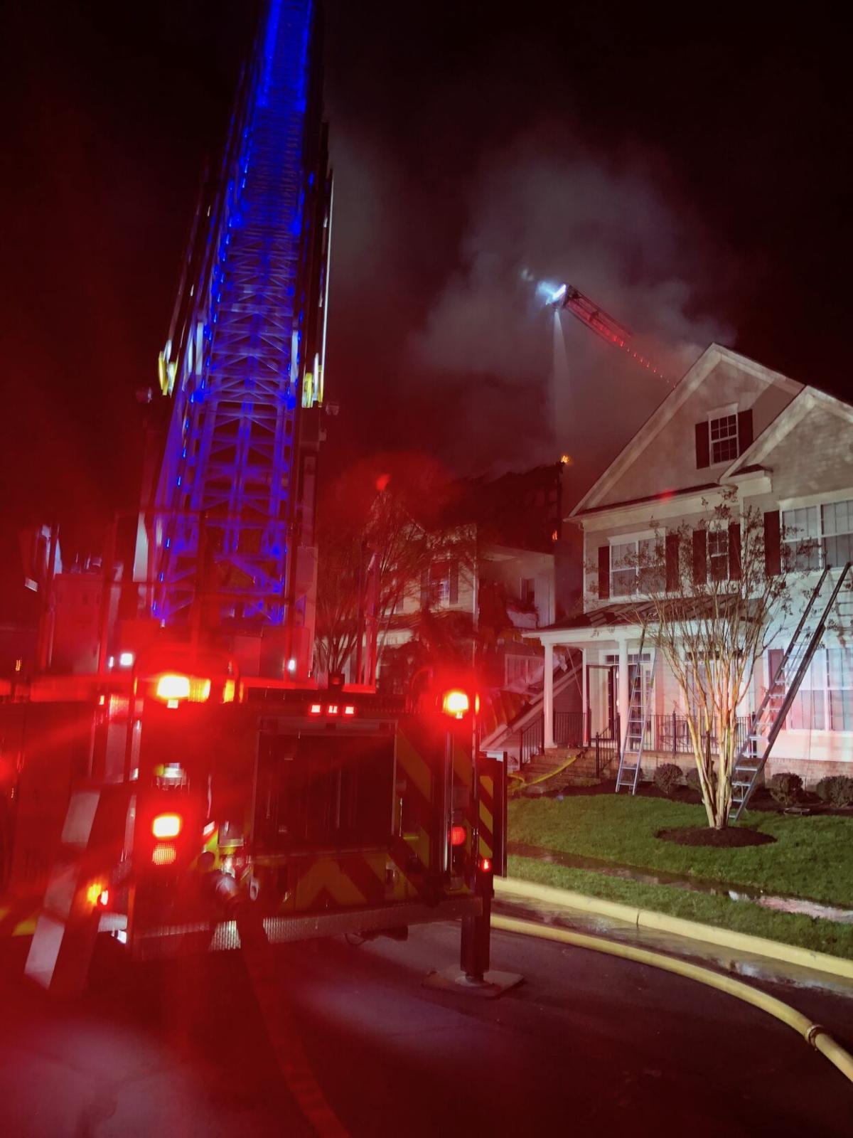 Bristow fire April 5, 2021
