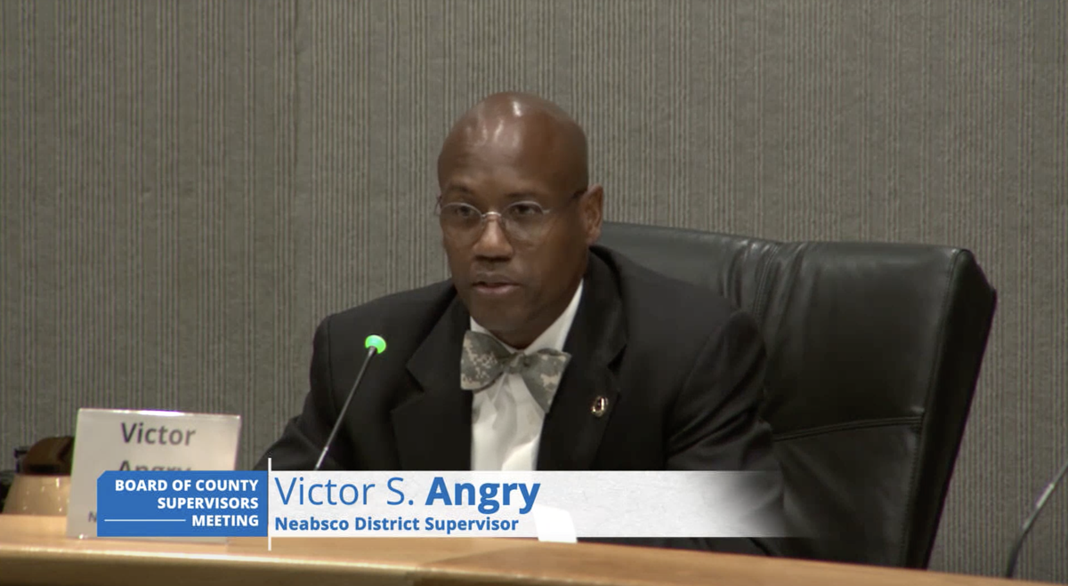 Supervisor Victor Angry meeting June 16, 2020