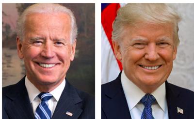 Joe Biden President Donald Trump