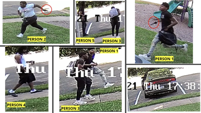 Photos from June 17 Woodbridge apartment shooting that left 9-year-old injured