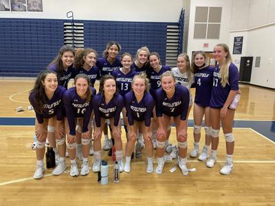 Battlefield H.S. volleyball team 2021